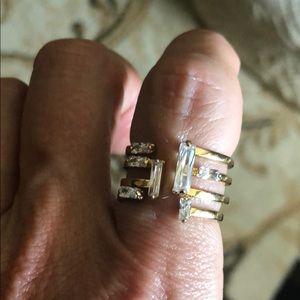 Henri Bendel gold ring